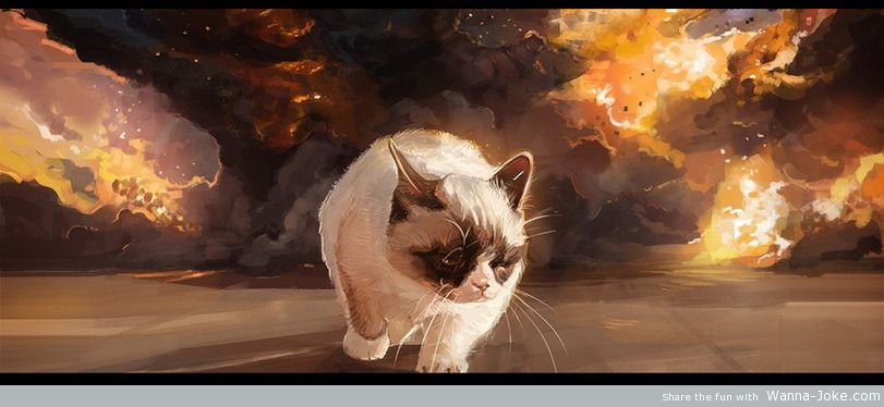 art-grumpy-cat-explosion