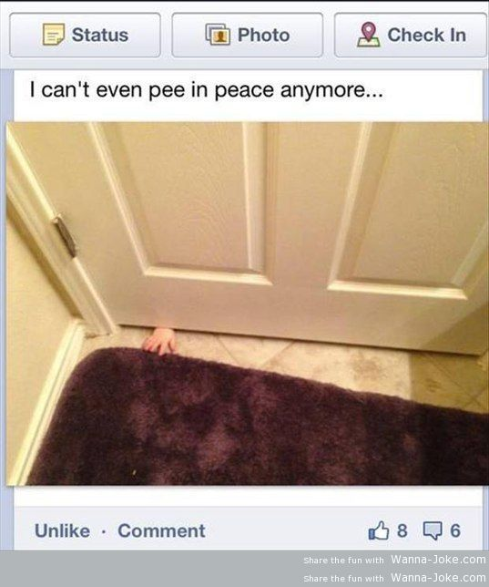 can't pee