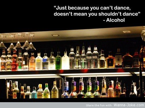 alcohol dance