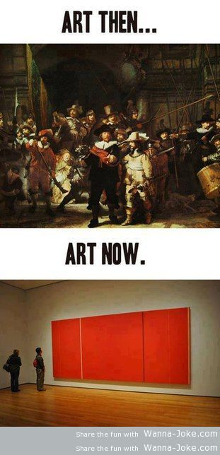 art-then-and-now