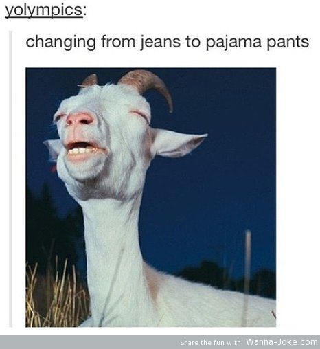 changing-from-jeans-to-pijama