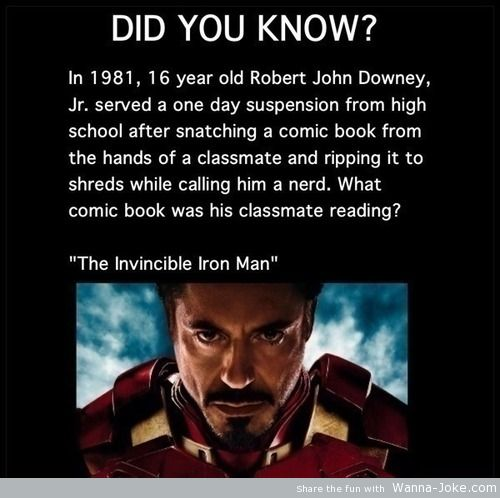 fact-about-iron-man