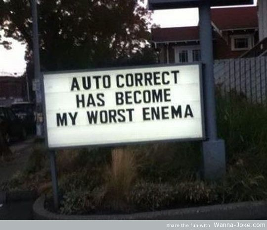 funny-auto-correct-sign-enemy