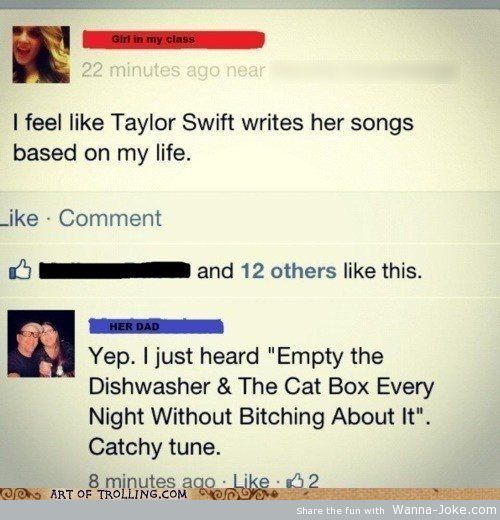 funny-facebook-comments-taylor-swift-song