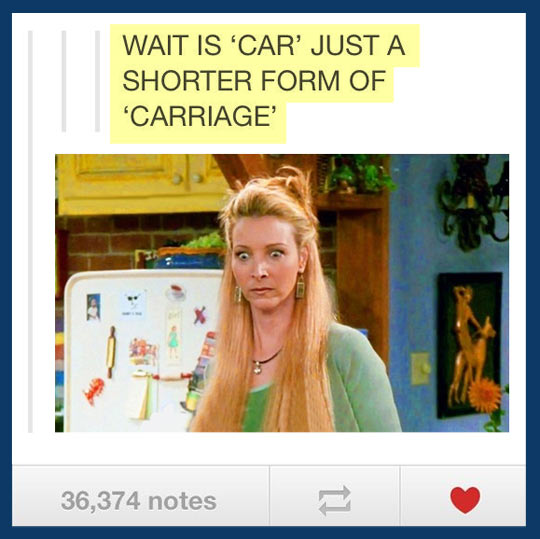 funny-picture-car-carrage-phoebe-buffay