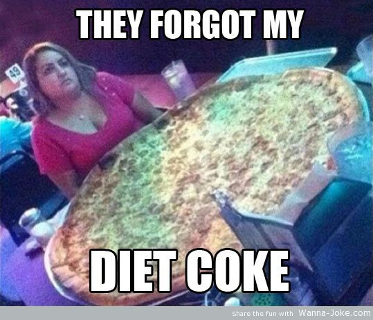 funny-woman-big-pizza-diet-coke