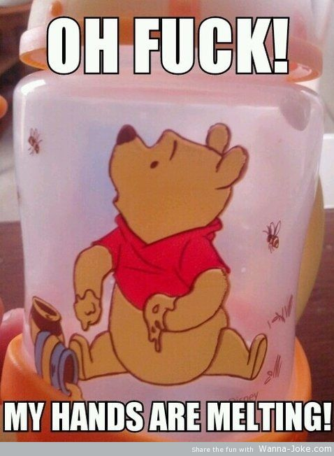 hands-are-melting-winnie-the-pooh-cup
