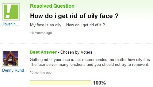 how to get rid of oily face in pictures