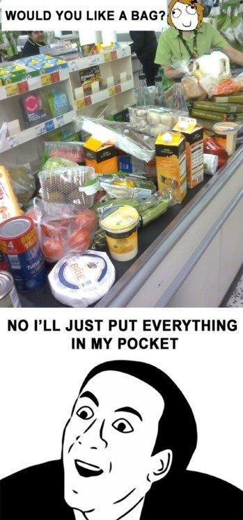 Meanwhile at the Supermarket