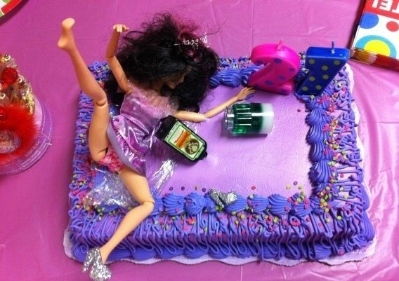 Funny Pictures 21 Birthday Cake