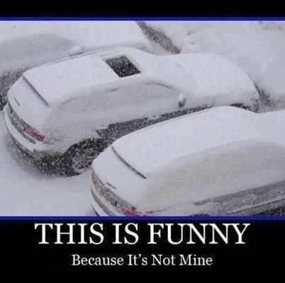 Funny First Snow Quotes