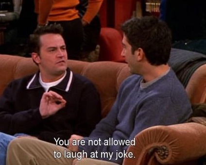 funny-pictures-chandler-not-allowed-to-laugh