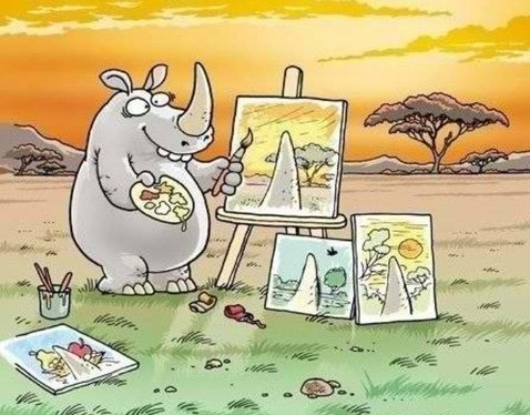 funny-pictures-rhinoceros-painting