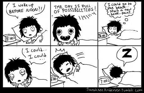 funny-pictures-sarahseeandersen-wake-up-before-noon