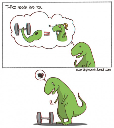 funny-pictures-t-rex-bodybuilding