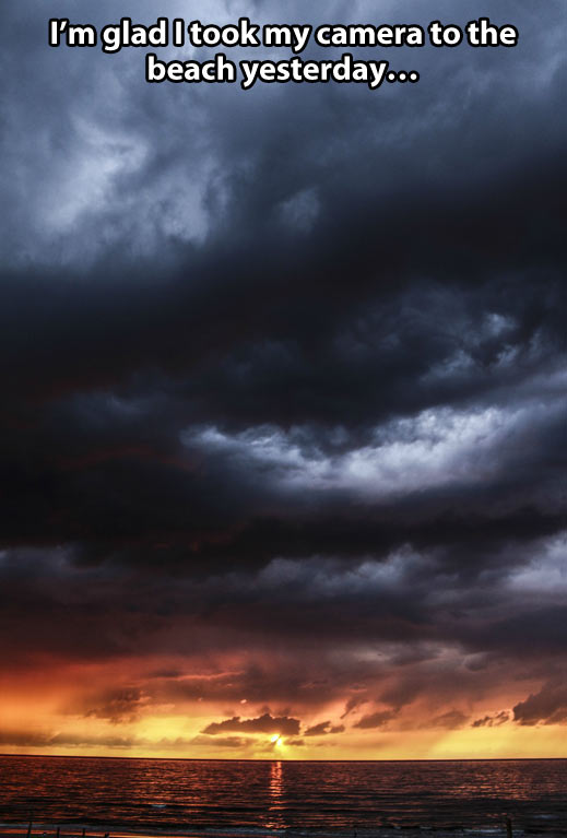 funny-picture-beach-sunset-clouds