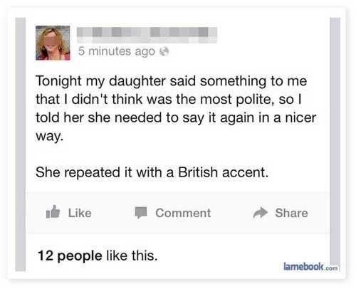 British Accent Makes Everything Sound Better
