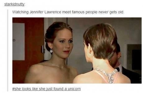funny-picture-jennifer-lawrence-meet-famous-people