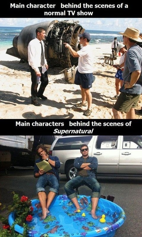 funny-picture-lost-supernatursl-behind-thescenes