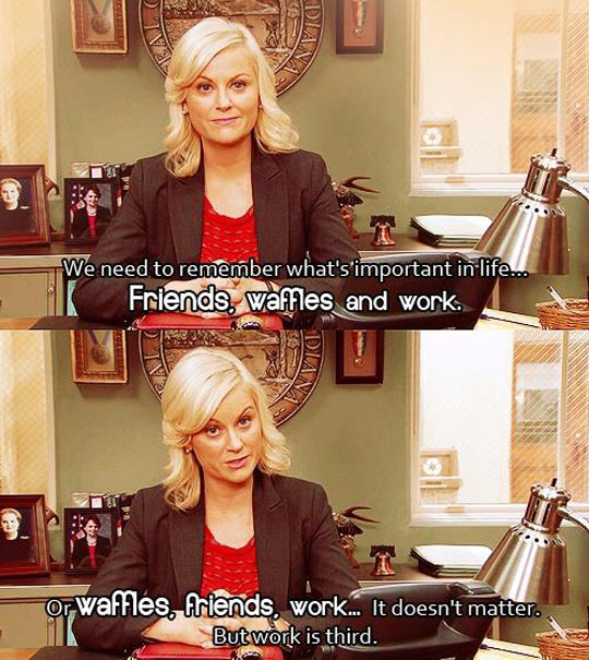 funny-picture-parks-recreation-important-waffles