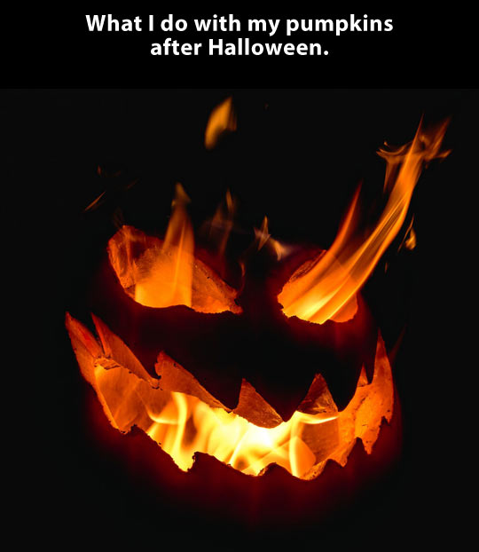 funny-picture-fire-pumpkin-after-Halloween