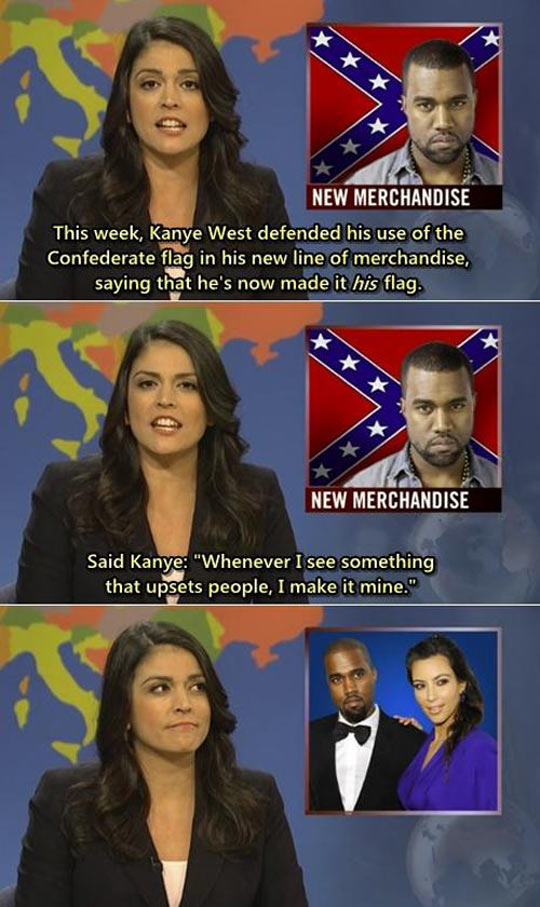 funny-picture-kanye-west-confederate-flag