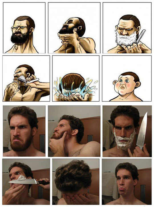 Funny Picture Beard Eyes Miss