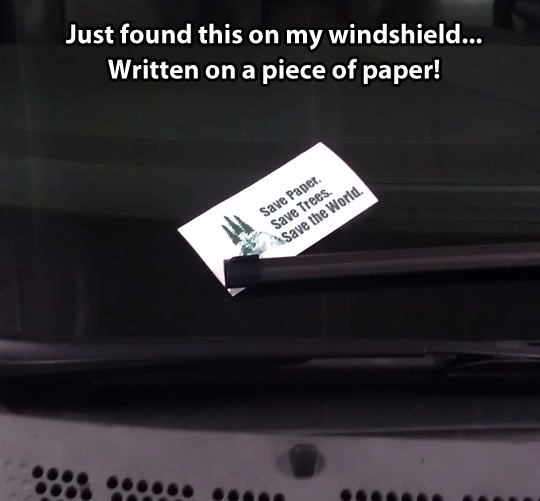 funny-picture-save-paper-banner-car-wind-shield