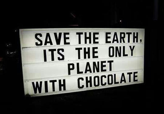 funny-picture-sign-save-earth-planet-chocolate