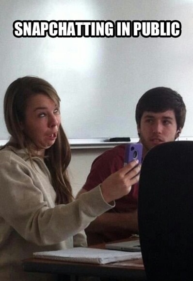 funny-picture-snapchatting-in-public