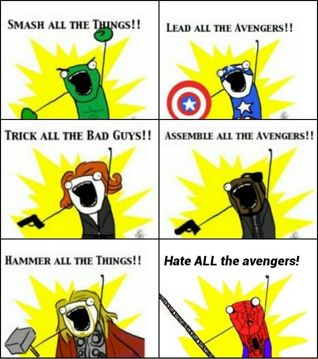 funny-picture-the-avengers-spiderman