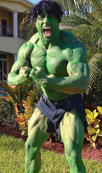 funny-picture-the-rock-halloween-Incredible-hulk