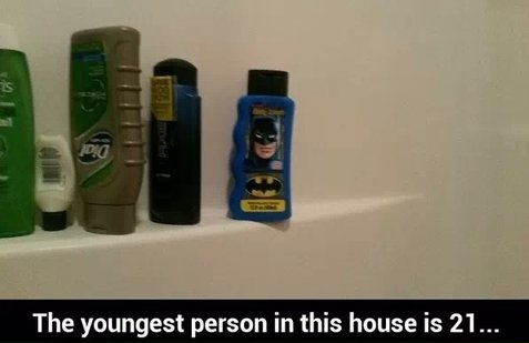 funny-picture-the-youngest-person-shower-batman