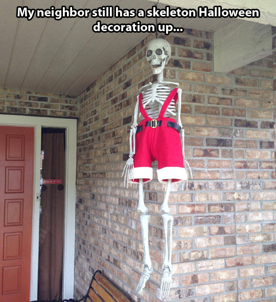 funny-picture-Christmas-Halloween-decoration-skeleton