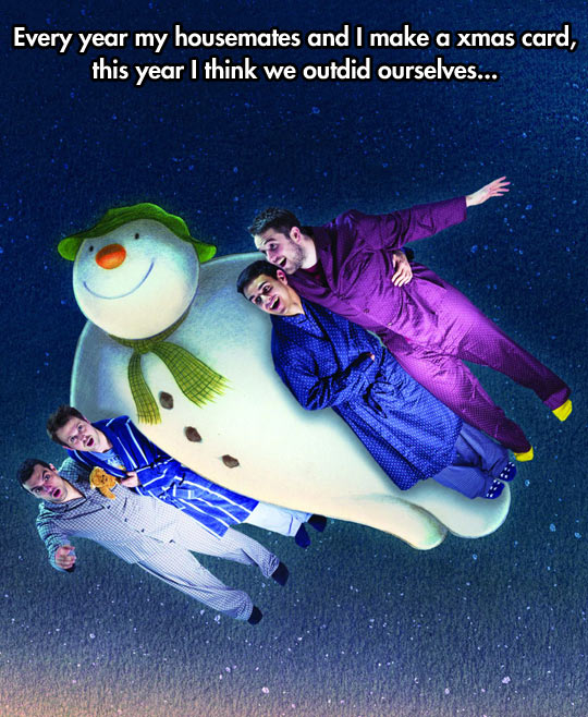 funny-picture-Christmas-card-roommates-snowman