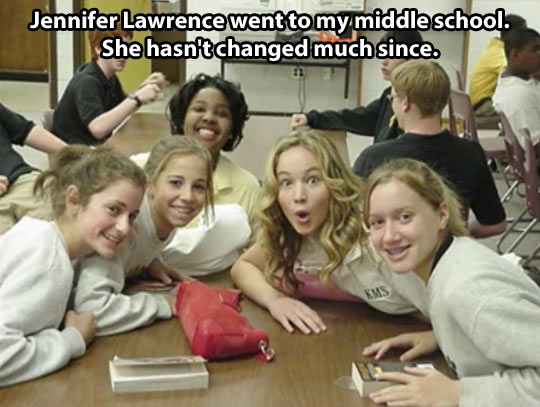 funny-picture-jennifer-lawrence-middle-school-young
