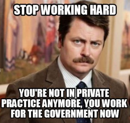 funny-picture-ron-swanson-working-hard