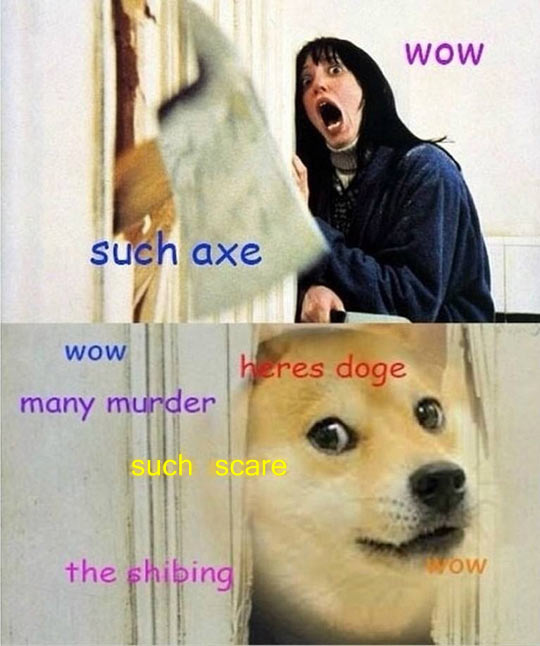 funny-picture-shinning-axe-dog-door