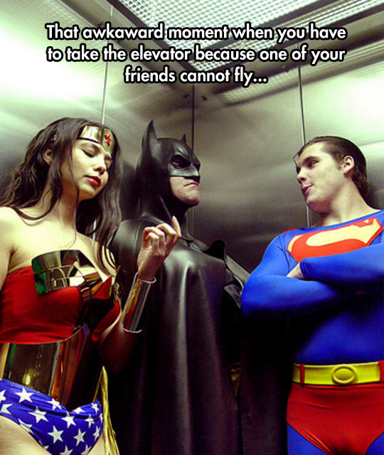 funny-picture-Justice-League-elevator-Batman-flying