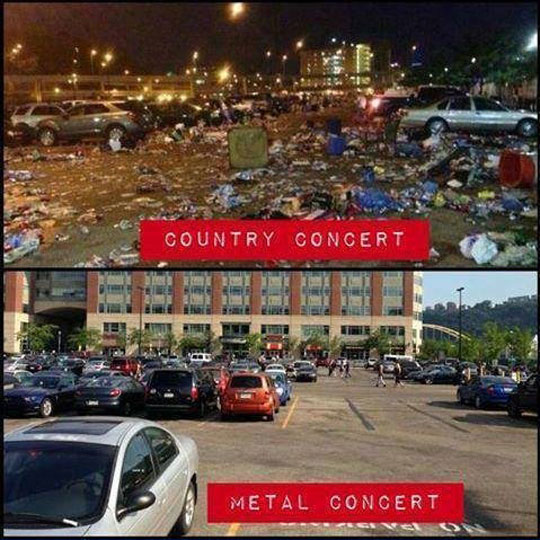 funny-picture-difference-concert-country-metal-trash