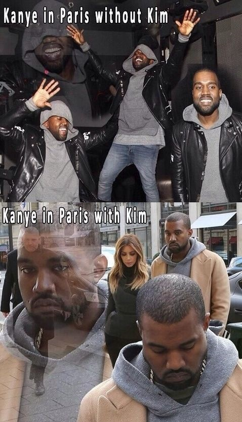 funny-picture-kanye-west-kim-kardashian-paris