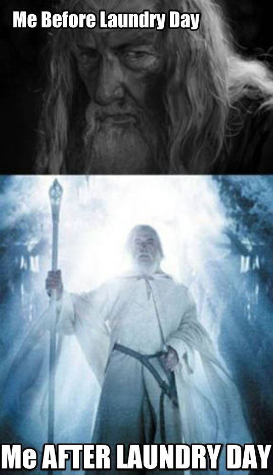 funny-picture-laundry-day-before-after-Gandalf