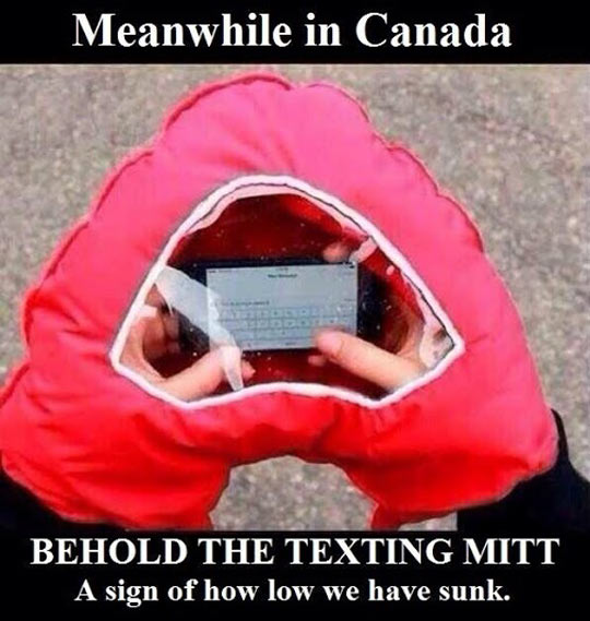 funny-picture-phone-texting-cold-glove-hand