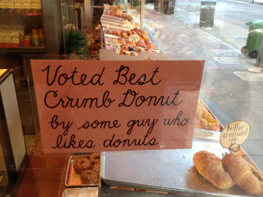 funny-picture-sign-crumb-donuts-some-guy