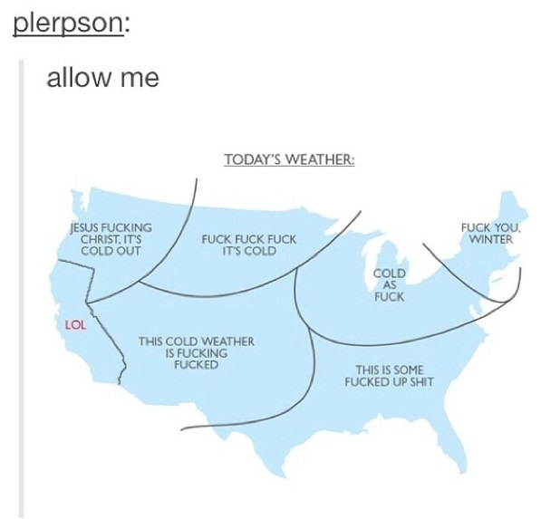 Funny Picture Us Weather Today