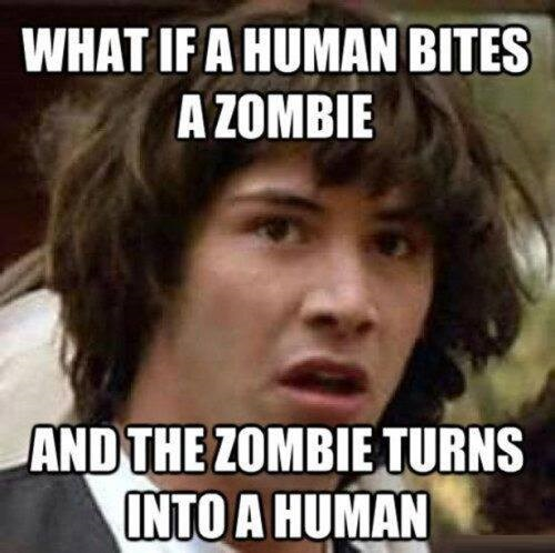 Funny Memes About Zombies : Walking jokes quotes quotesgram