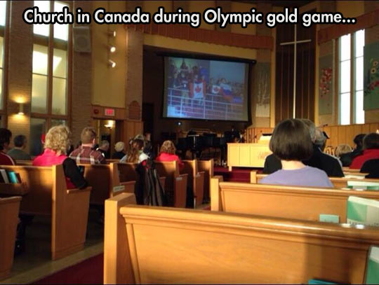 funny-picture-Canada-church-Olympics-game