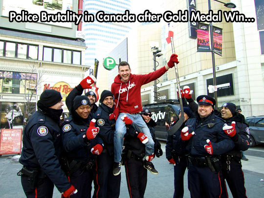 funny-picture-Canada-police-gold-Olympic