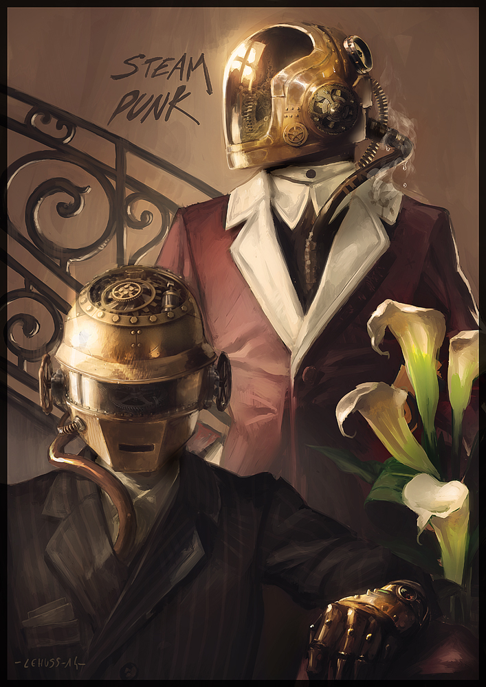 funny-picture-art-daft-punk-steampunk