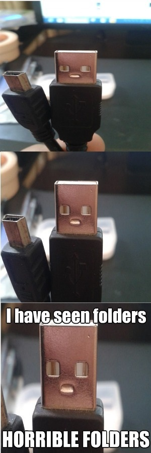 USB has seen some shit